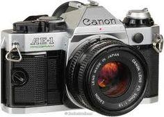 uma bela máquina fotográfica...
