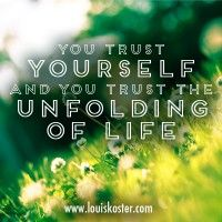 Your Journey Is Trusting Who You Are and Allowing Others to Have Their Own Unfolding