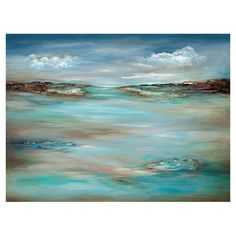 Create an inspiring display in your foyer, den, or master suite with this gallery-worthy canvas print, showcasing a seaside landscape motif....
