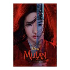 Mulan Sword Reflection Theatrical Art Poster Size: Small. Gender: unisex. Age Group: adult. Material: Value Poster Paper (Matte). Jason Scott Lee, Jet Li, 2020 Movies, Top Movies, Movies To Watch, Movies Free, Gong Li, Streaming Hd, Streaming Movies