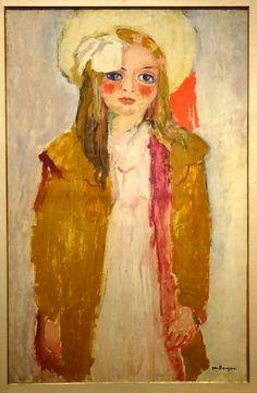 Portrait of Dolly, by Kees van Dongen, ar. Old Masters at the Courtauld Gallery André Derain, Henri Matisse, Rotterdam, Art Fauvisme, Maurice De Vlaminck, Raoul Dufy, Georges Braque, Orange Art, Van Gogh Museum