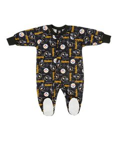 811912140 Take a look at this Pittsburgh Steelers Footie - Toddler by NFL on #zulily  today