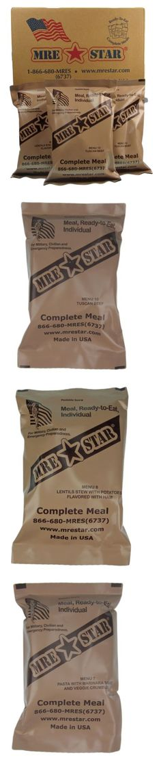 MREs and Freeze-Dried Food 62118: Mre Star Complete Meal, Ready-To-Eat, Individual - Choose Flavor -> BUY IT NOW ONLY: $99.95 on eBay!