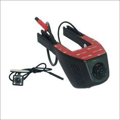 97.88$  Buy now - http://ali62u.worldwells.pw/go.php?t=32786944389 - For Geely king kong MK APP Control Car Wifi DVR Dual Camera lens Dash Cam Car Black Box Novatek 96658 Camcorder Motion Detection 97.88$
