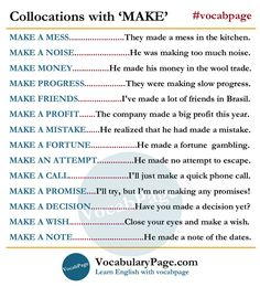 Vocabulary Page ( English Grammar Games, Learn English Grammar, Grammar And Vocabulary, English Idioms, Grammar Lessons, English Phrases, Learn English Words, English Vocabulary, English Language
