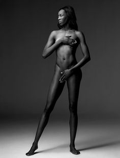 Destinee Hooker - US Olympic volleyball, leaves London with a silver medal. (ESPN's body issue 2012).