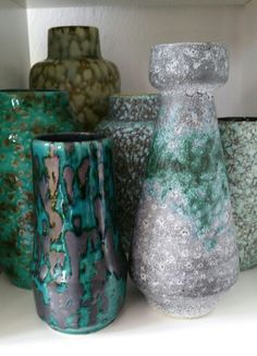Shades of green~ west german pottery