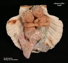 Resultado de imagem para Ooak fairy baby in snuggle pod faerie art doll