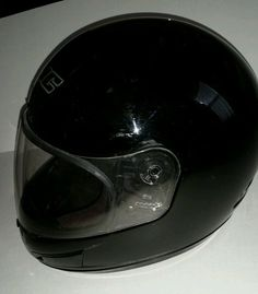 HJC MOTORCYCLE HELMET FULL FACE CS-12 GLOSS BLACK LARGE #HJCHelmets  Please RePinit, ReTweet and Share on Facebook. Thanks