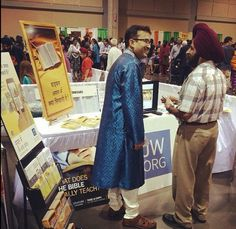 India fest Kansas City  - Having the literature in people's languages blows their mind. And JW's have been translating Bibles in most of the main languages of the world, helping people to learn God's Truth.