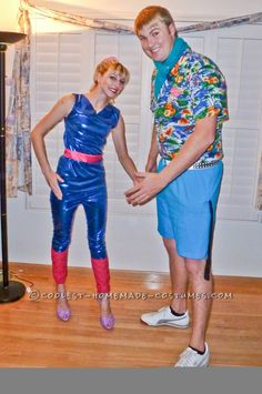 Cutest Halloween Couple Costume Ever – Toy Story 3′s Ken and Barbie