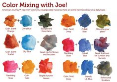 Artists' Watercolor Paint by American Journey - Cheap Joe's Art Stuff