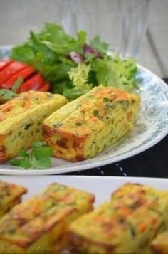 Flans de légumes {curry et lait de coco}