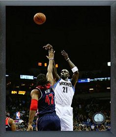7784b17794c Kevin Garnett Minnesota Timberwolves 201415 NBA Action Photo Size 17 x 21  Framed   Check out this great product.