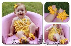 Baby Barefoot Bling Fancy Flop Baby Barefoot Shoes by fancyflop, $16.00