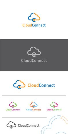 Cloud Connect Logo Template on Behance
