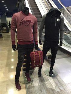 Duo Homme habillé en Jack and Jones, Wrung, Herschel, Nike, Volcom, etc ... Streetstyle !