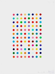 Bid now on Xylene Cyanol Dye Solution by Damien Hirst. View a wide Variety of artworks by Damien Hirst, now available for sale on artnet Auctions. Selling Art Online, Online Art, Damien Hirst Paintings, Found Art, Geek Art, Dot Painting, Contemporary Art, Modern Art, Artsy