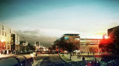 "Schønherr Landscape / ADEPT Architects' vision for Helsingborg: ""The Tolerant City"""