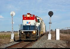 RailPictures.Net Photo: CFNR 503 California Northern Railroad NRE 3GS21B-DE at Orland, California by Jake Miille