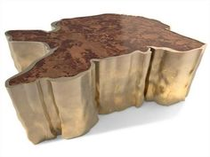 The most fancy and original dining table. Inspired on nature. #BRABBU www.brabbu.com