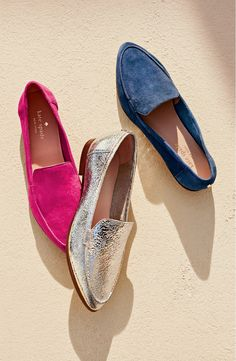 Falling for these moc-stitched loafers from Kate Spade. They're just too classy and cute!