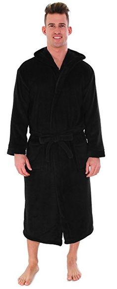 44e933d055 Men s Bathrobe Simplicity-Hooded Kimono Robe A Good Man