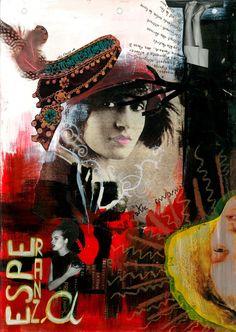 Collage esperanza Nelly Bisson artiste Collage, Artwork, Artist, Painting, Work Of Art, Artists, Painting Art, Paintings, Collage Art