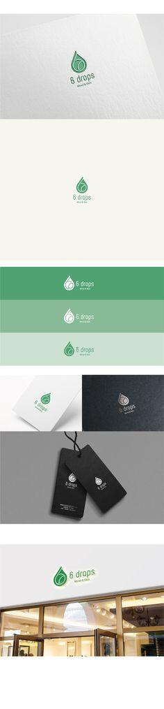 6 Tropfen / Design by / Natural natural ™ … - Project Crafts App Design, Logo Design, Brand Identity Design, Site Design, Layout Design, Branding Design, Design Art Drawing, Advertising Design, Book Cover Design
