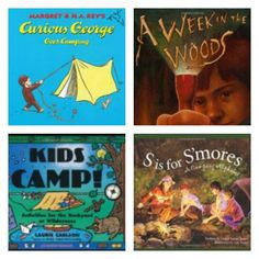 10 Books to Read on your Next Camping Trip -- great list for kids ages 3 - 12!