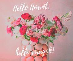 Végre melegszik az idő és kijelenthetjük, hogy eljött a tavasz. Ez az optimista időszak már megágyaz a Húsvétnak, ami az én egyik kedvenc ünnepem. Nem olyan stresszes, mint a karácsony és már jó idő van, így az egész család jókedvű és laza ilyenkor. A húsvéti hangulatot otthon kedves virágdíszekkel teszem teljessé. Floral Wreath, Wreaths, Painting, Decor, Art, Optimism, Art Background, Floral Crown, Decoration