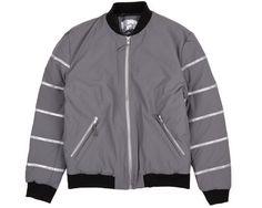 Billionaire Boys Club Manhattan Bomber Jacket - Grey