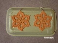 "Tutorial orecchini ""Sole"" | How to crochet a ""Sun"" earrings - YouTube"
