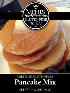 Pancakes so light and fluffy, you won't believe they are Gluten-Free!