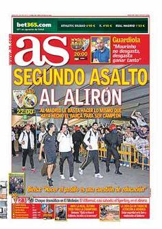 Portadas prensa deportiva ´dia 2 de mayo. posible alirón Real Madrid: http://www.elenganche.es/prensa
