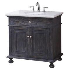 """Crawford & Burke Lincoln 35"""" Bathroom Vanity Set & Reviews   Wayfair"""
