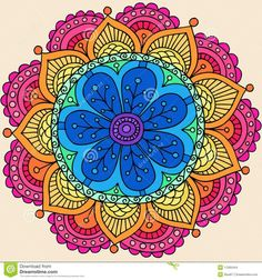 Mandala of colors  ♡
