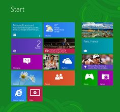 Windows 8 Sneak Peek!...getting used to this new windows on my new 'puter!! it's pretty cool!
