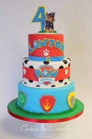 Resultado de imagem para paw patrol cake