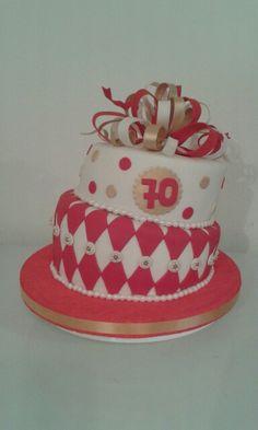 Torta de cumpleaños 70 años