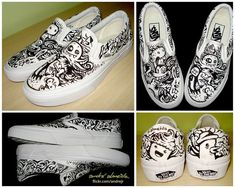 Vans Custom by André Almeida /andrejr Nike Shoes Blue, Nike Shoes Air Force, On Shoes, Me Too Shoes, Shoes Heels, Sneakers Mode, Vans Sneakers, Sneakers Fashion, Custom Vans Shoes