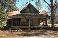 """The """"Annie House"""", Tattnall County, GA. Photographed by Brian Brown for his website, Vanishing South Georgia."""