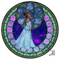 Disney Characters Recreated As Stained Glass Windows