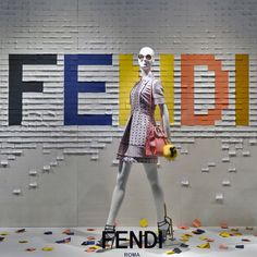 Saks Fifth Avenue special windows featuring the Fendi Fall/Winter 2015 collection
