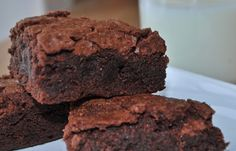 two parts sweet: Super Moist Brownie Recipe... shhh! they're gluten free
