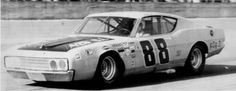 Benny Parsons at Daytona. Took this one during practice for the 500.