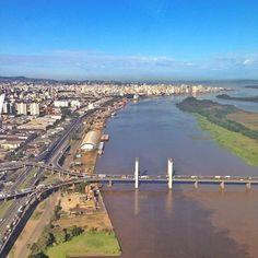 Ponte sobre o Guaíba