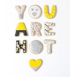 Galletas de The Alison Show, vía blog A Perfect Little Life #cookies #regalos #tiendaonline #aperfectlittlelife ☁ ☁ A Perfect Little Life ☁ ☁ www.aperfectlittlelife.com ☁