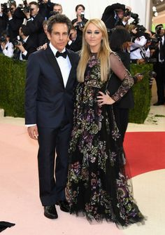 Ben Stiller and Christine Taylor (in Fall 2014) wore #Valentino to the #MetGala. #ManusxMachina #MetBall -The Fashion Court (@TheFashionCourt) | Twitter