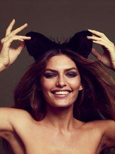 Alyssa Miller. Top model. Top notch brows! <3
